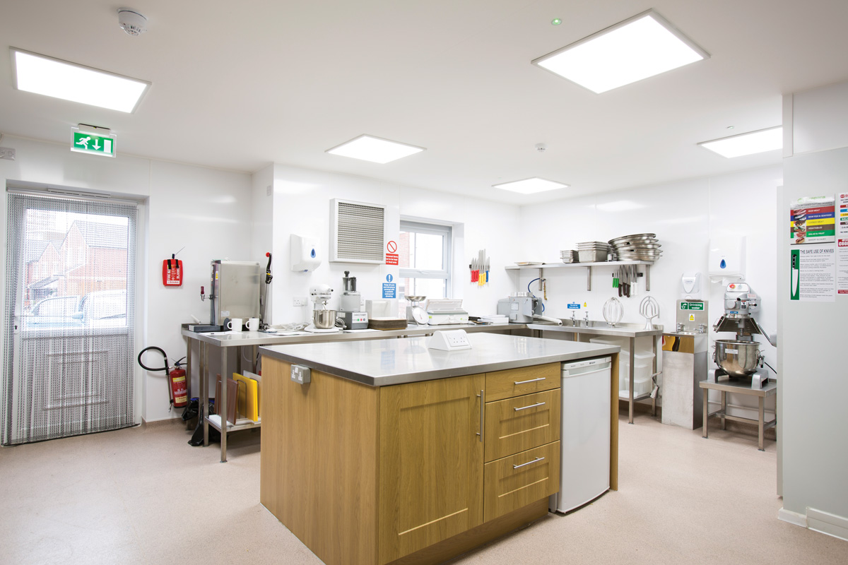 Care home kitchen ip65 lighting