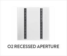 O2 Recessed Aperture